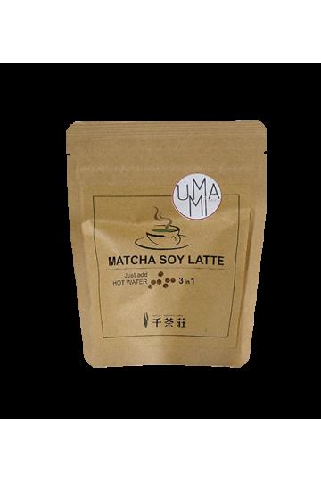 Matcha Latte instantané au lait de soja (100 g)