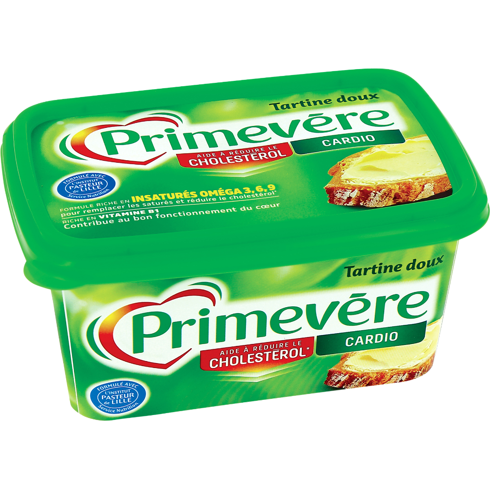 Margarine à tartiner doux, Primevère (500 g)