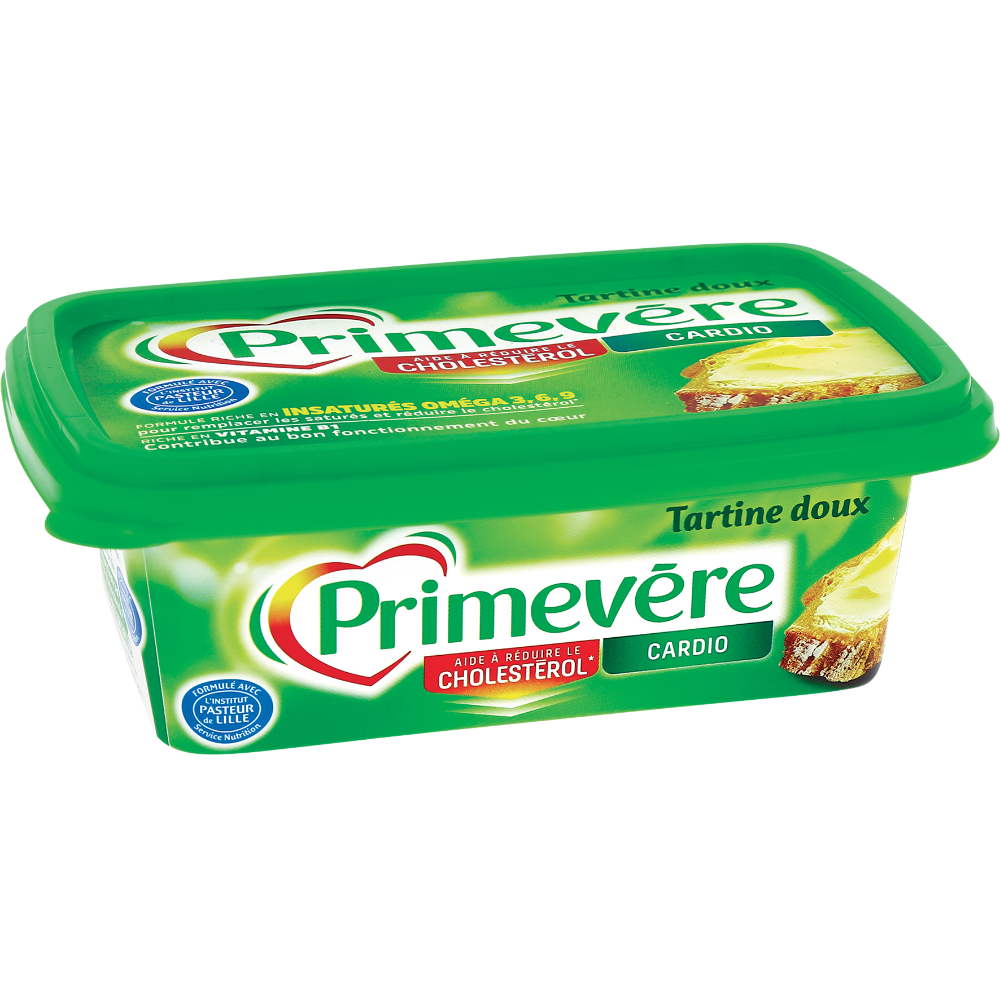 Margarine à tartiner doux, Primevère (250 g)
