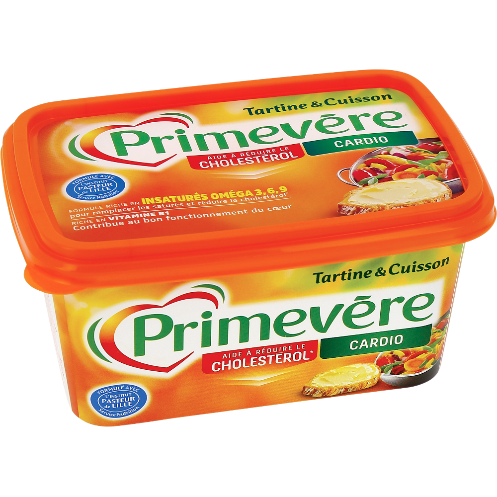 Margarine tartine & cuisson, Primevère (500 g)