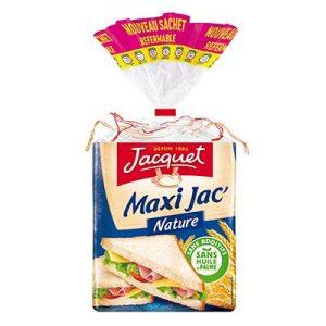 Pain de mie Maxi Jac' nature, Jacquet (550 g)