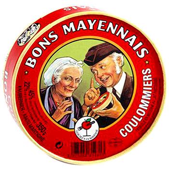 Coulommiers 45%, Le Bon Mayennais (350 g)