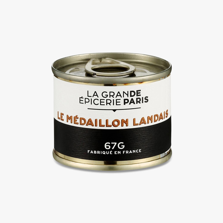 Médaillon landais, La Grande Epicerie de Paris (67 g)