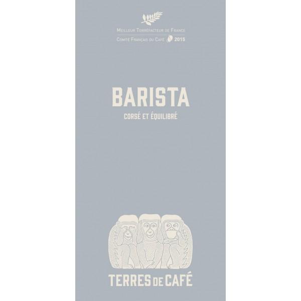 Café moulu Barista - Terres de café (250 g)
