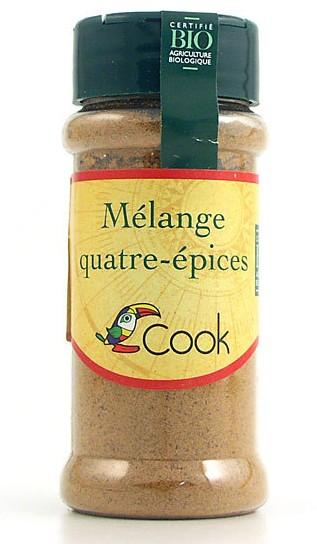 Mélange 4 épices BIO, Cook (35 g)