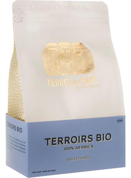Café moulu Terroir Bio 100% arabica, Terres de café (250 g)