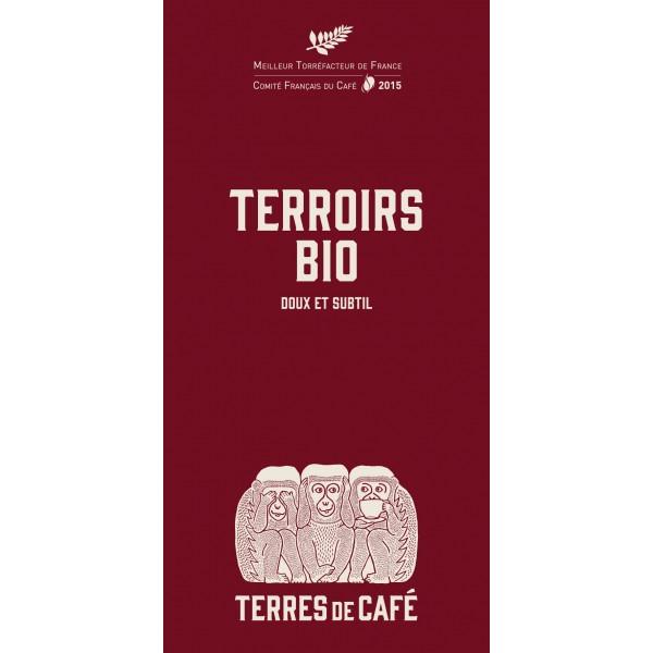 Café moulu Mélange Terroir Bio (250 g)