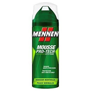 Mousse à raser mentholée, Mennen (250 ml)