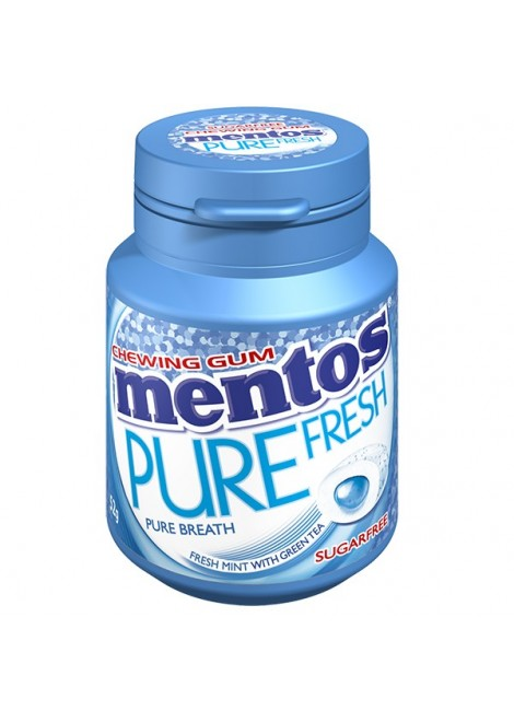 Chewing-gum Pure Fresh Mint sans sucre, Mentos (x 30)
