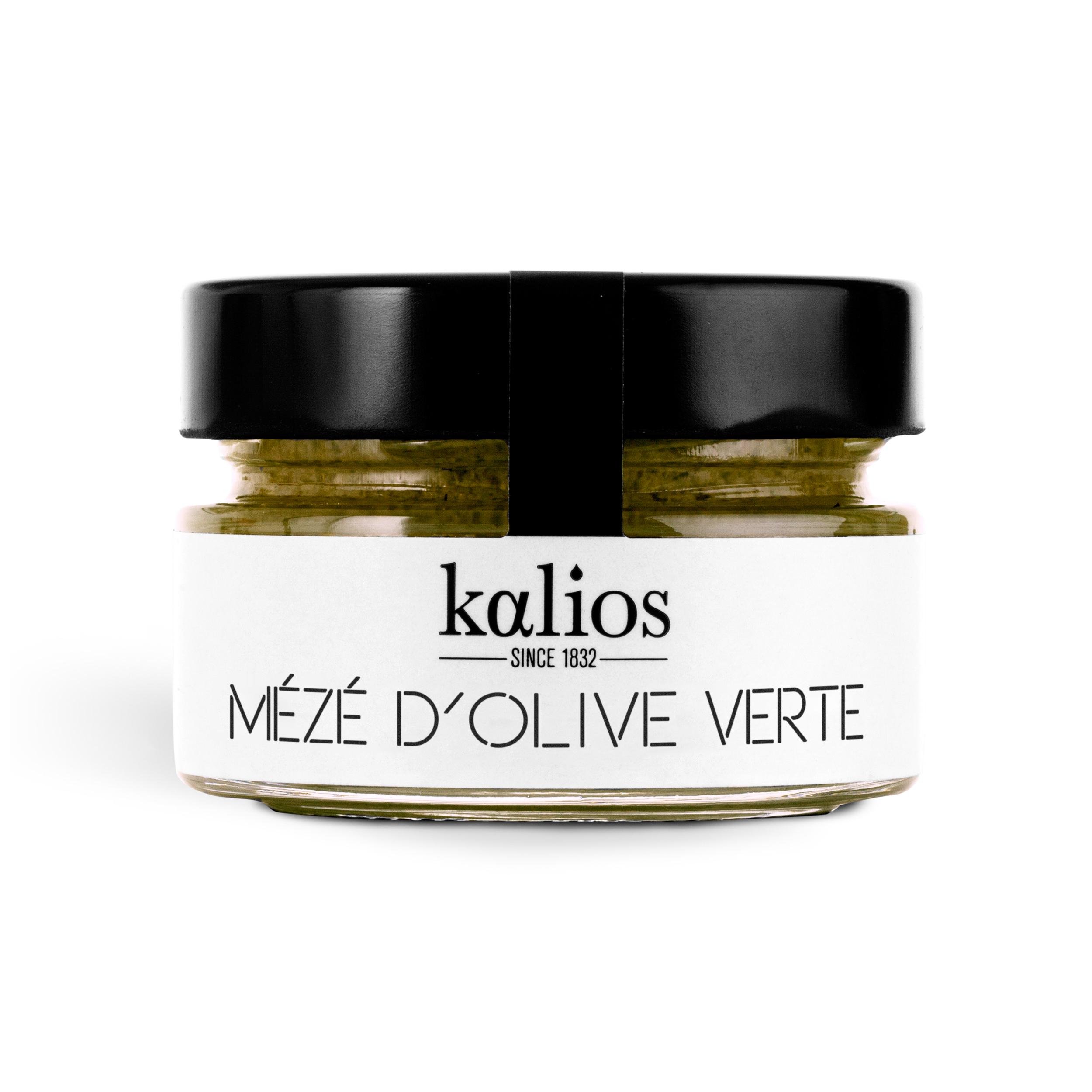 Mézé/crème d'olives vertes, Kalios (90 g)