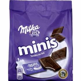 Mini tablette Milka au lait (20 x 10 g)