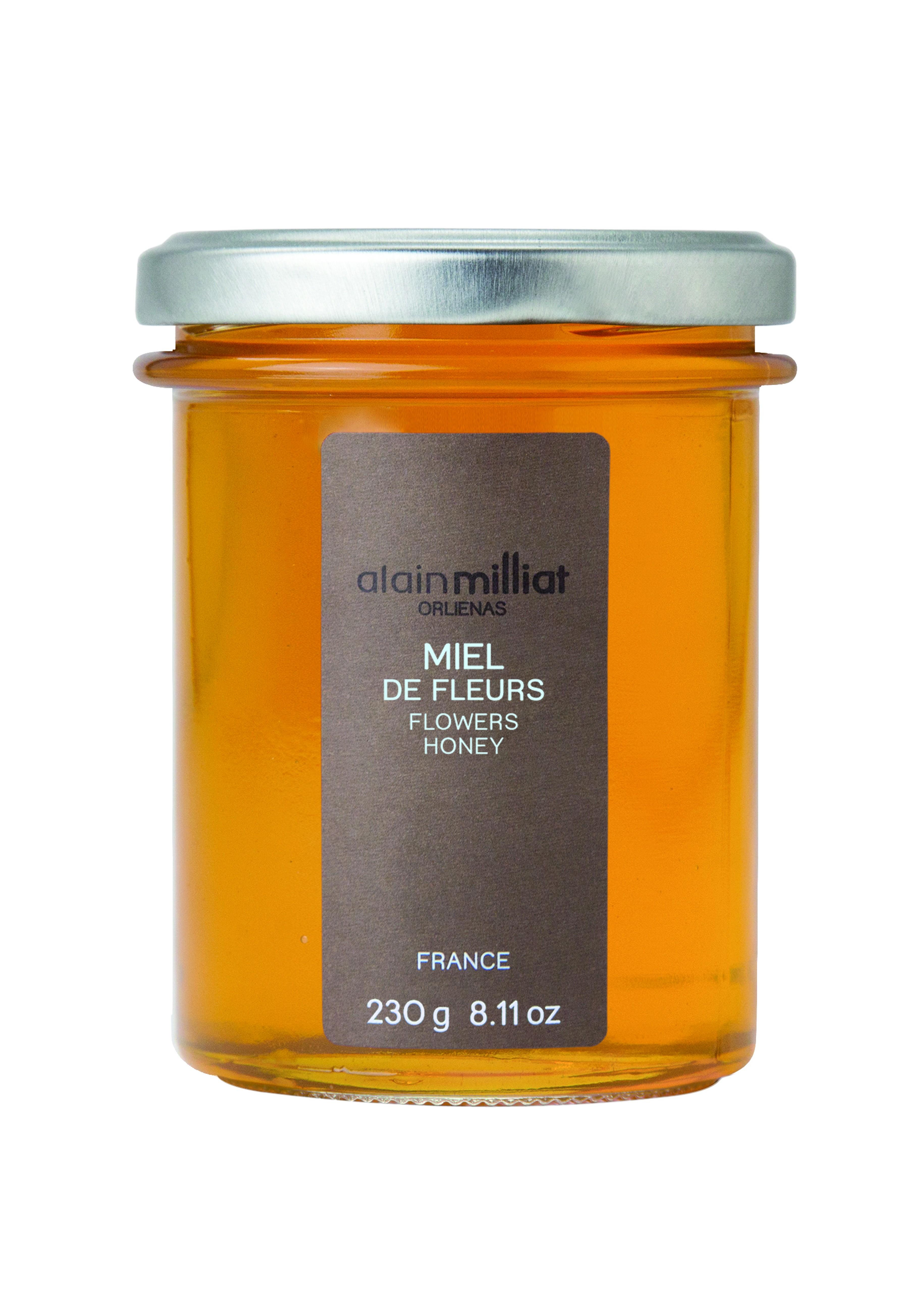 Miel de Fleurs, Alain Milliat (230 g)
