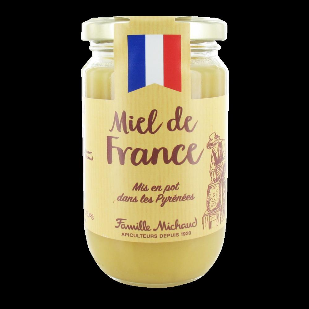 Miel de France crémeux, Famille Michaud (375 g)