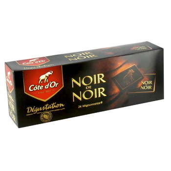 Mignonettes noir de noir, Côte d'Or (24 x 10g)