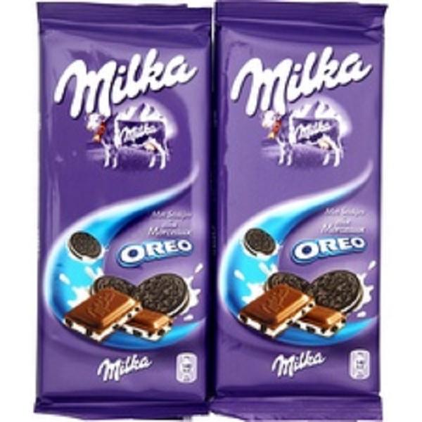 Chocolat Oreo Milka (2 x 100 g)