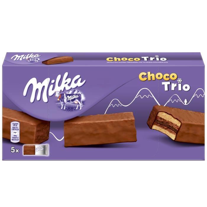 Choco Trio, Milka (x 6, 180 g)