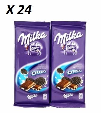 Chocolat Oreo, Milka (2 x 100 g, x 24)