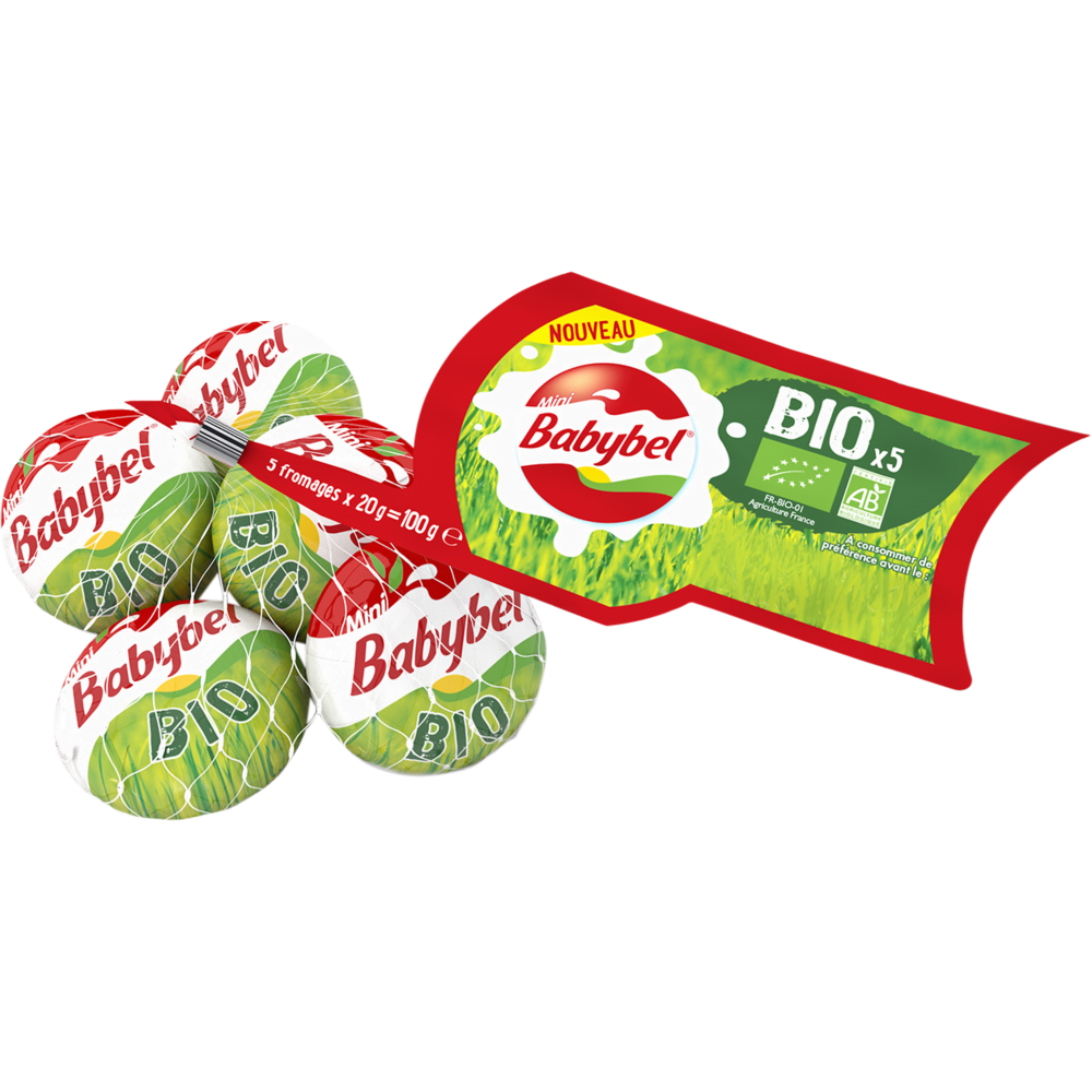 Mini Babybel BIO (5 x 100 g)