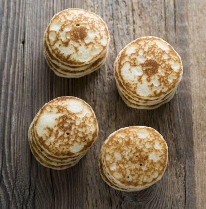 Mini blinis moelleux aux oeufs frais, Le Comptoir du Caviar (x 16, 135 g)
