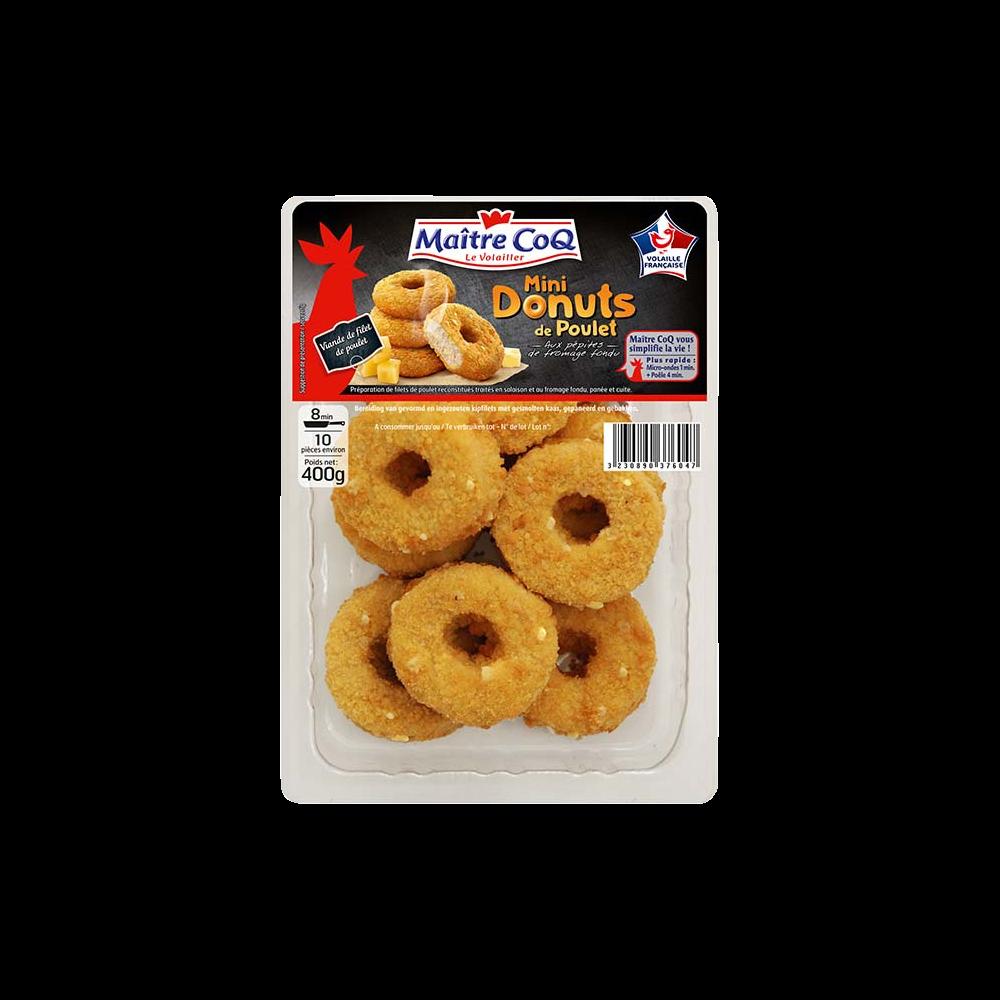 Mini donuts de poulet, Maître Coq (400 g)