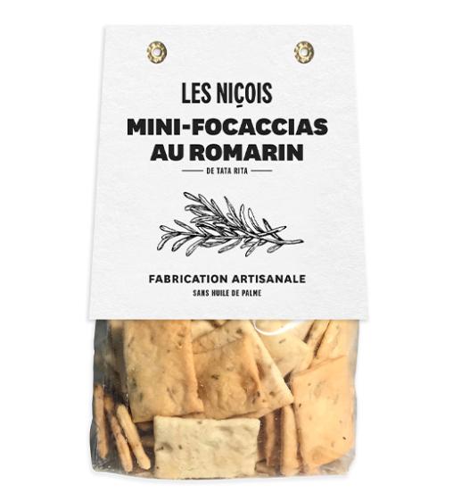 Mini-focaccias au romarin de Tata Rita, Les Niçois (200 g)