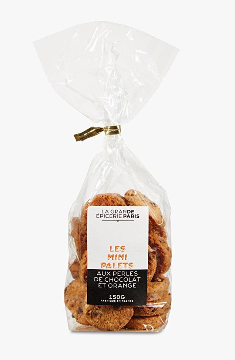 Mini palets aux pépites de chocolat et à l'orange, La Grande Epicerie de Paris (150 g)