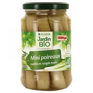 Mini poireaux BIO, Jardin Bio (330 g)