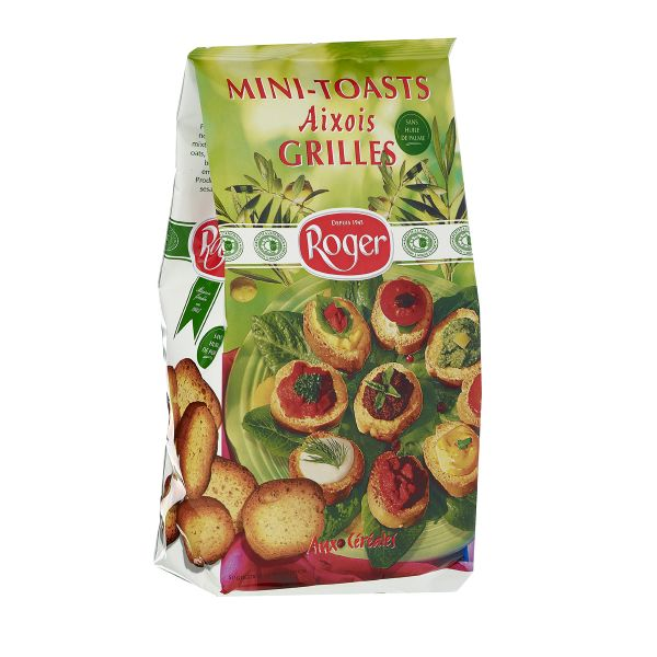 Mini-toasts Aixois grillés, Roger (150 g)