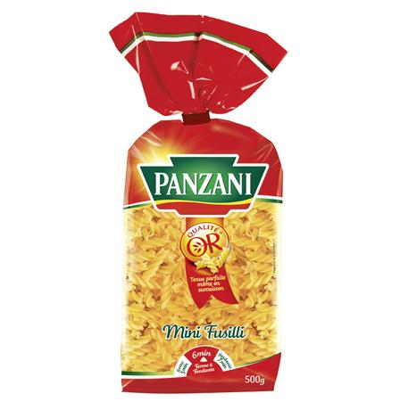 Fusillini (mini fusilli), Panzani (500 g)