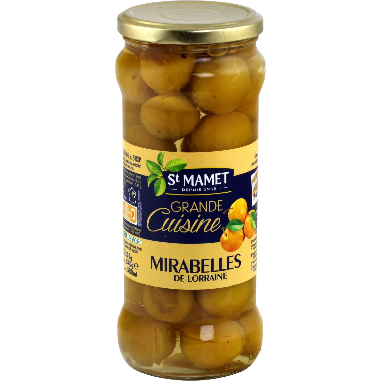 Mirabelles au sirop St Mamet (580 ml)