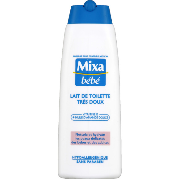 Lait de toilette, Mixa bébé (250 ml)