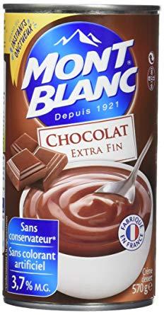 Crème Chocolat Mont Blanc (500 g)
