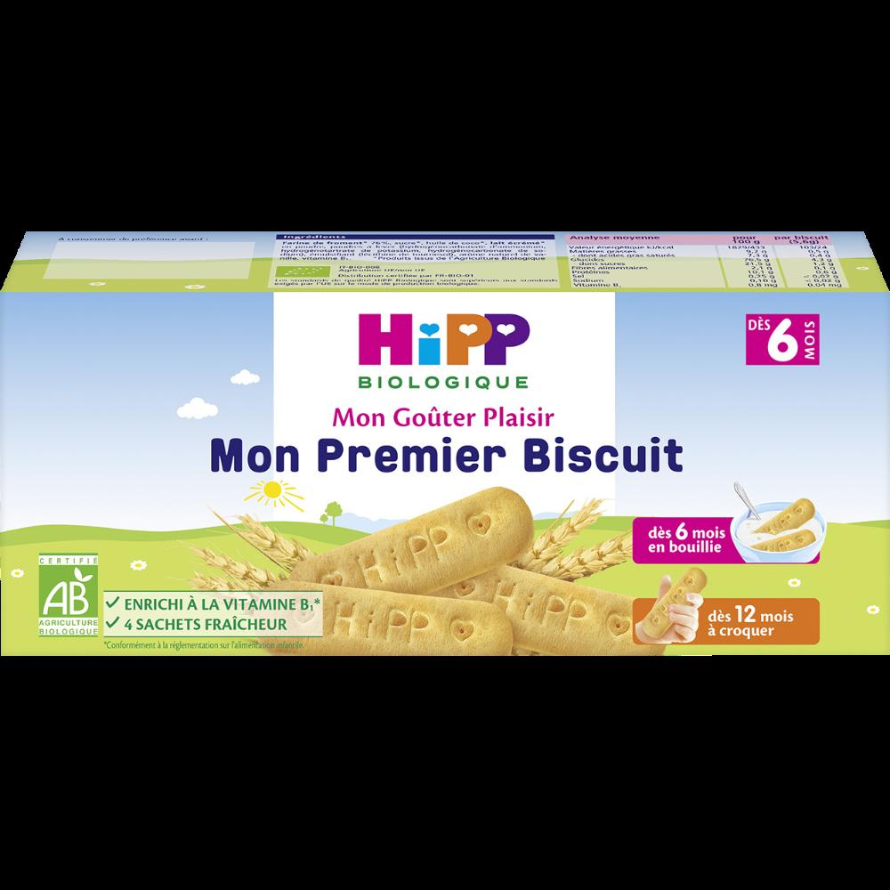 Mon premier biscuit BIO - dès 6 mois, Hipp (180 g)