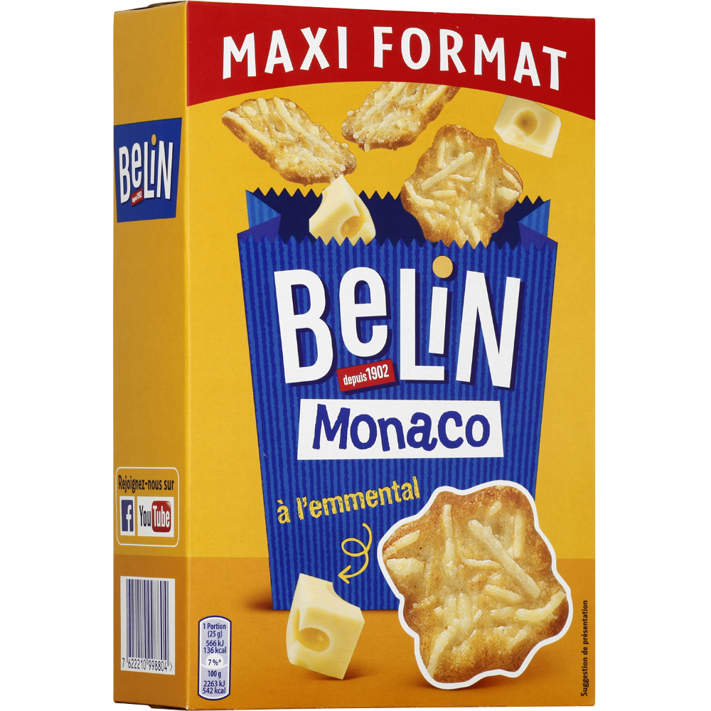 Crackers Monaco, Belin (155 g)