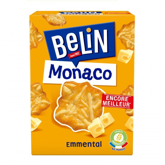 Crackers Monaco Emmental, Belin (100 g)