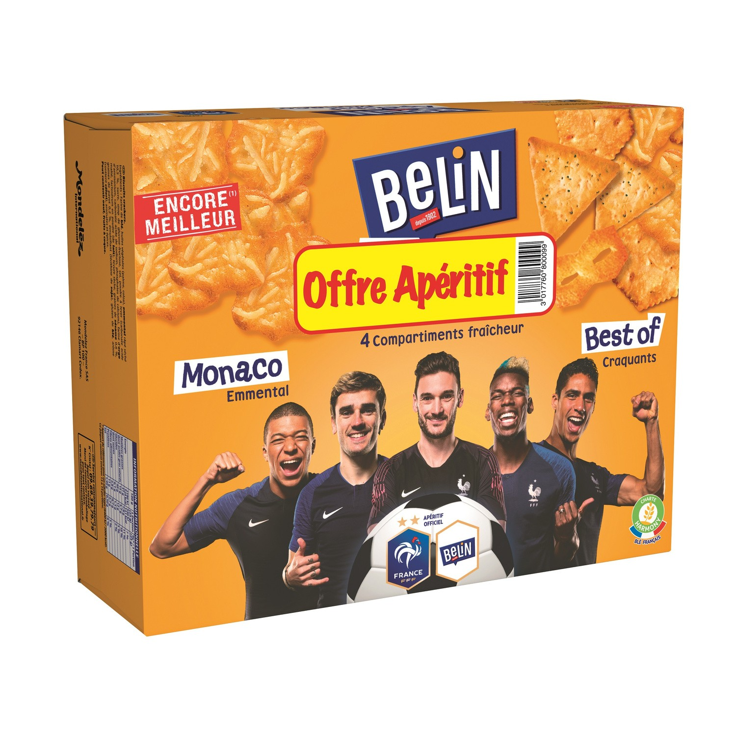 Crackers Assortiment Best of Monaco, Belin (340 g)
