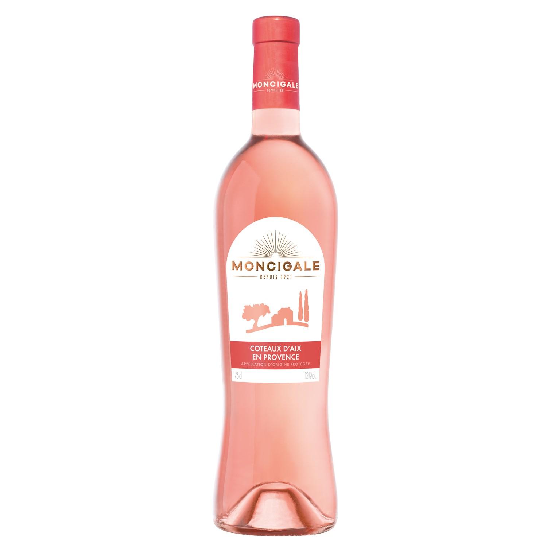 Côteaux d'Aix rosé AOP Cl Moncigale (75 cl)