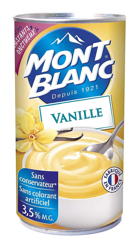Crème Vanille, Mont Blanc (500 g)