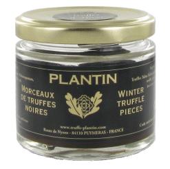 Truffes noires morceaux extra Melanosporum - Plantin (50 g)