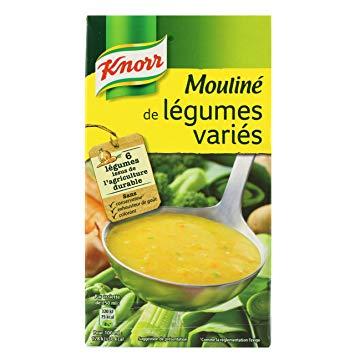 Mouliné de légumes variés, Knorr (1 L)