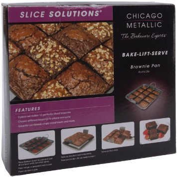 Moule à brownies 12 parts Chicago Metallic