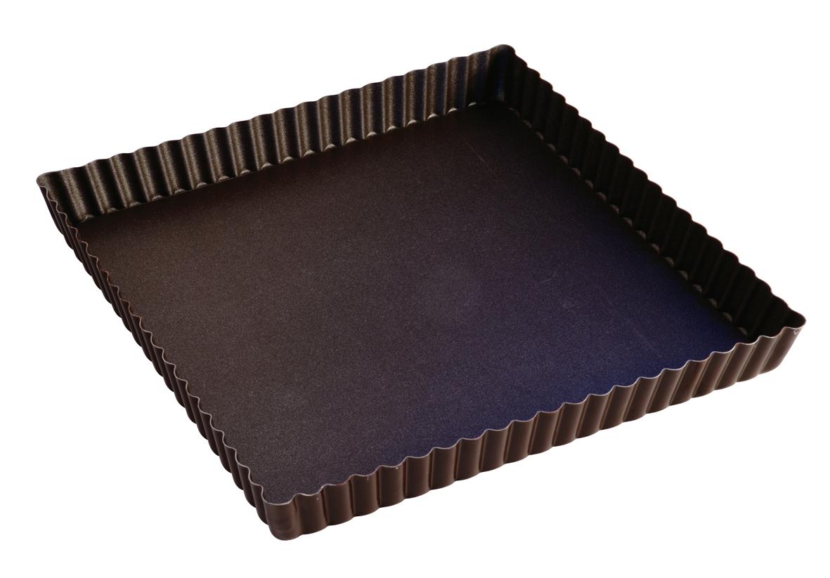 Moule à tarte carré anti-adhérent Gobel