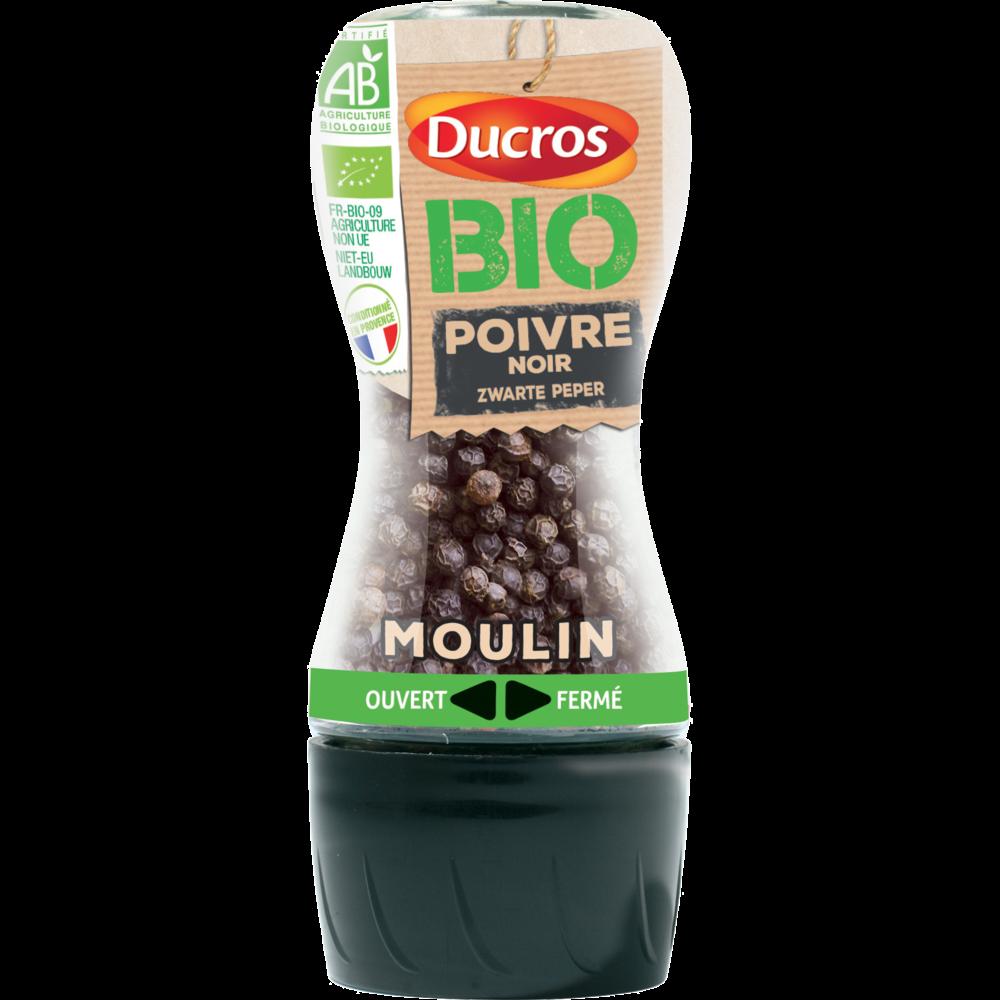 Moulin Poivre noir BIO, Ducros (30 g)