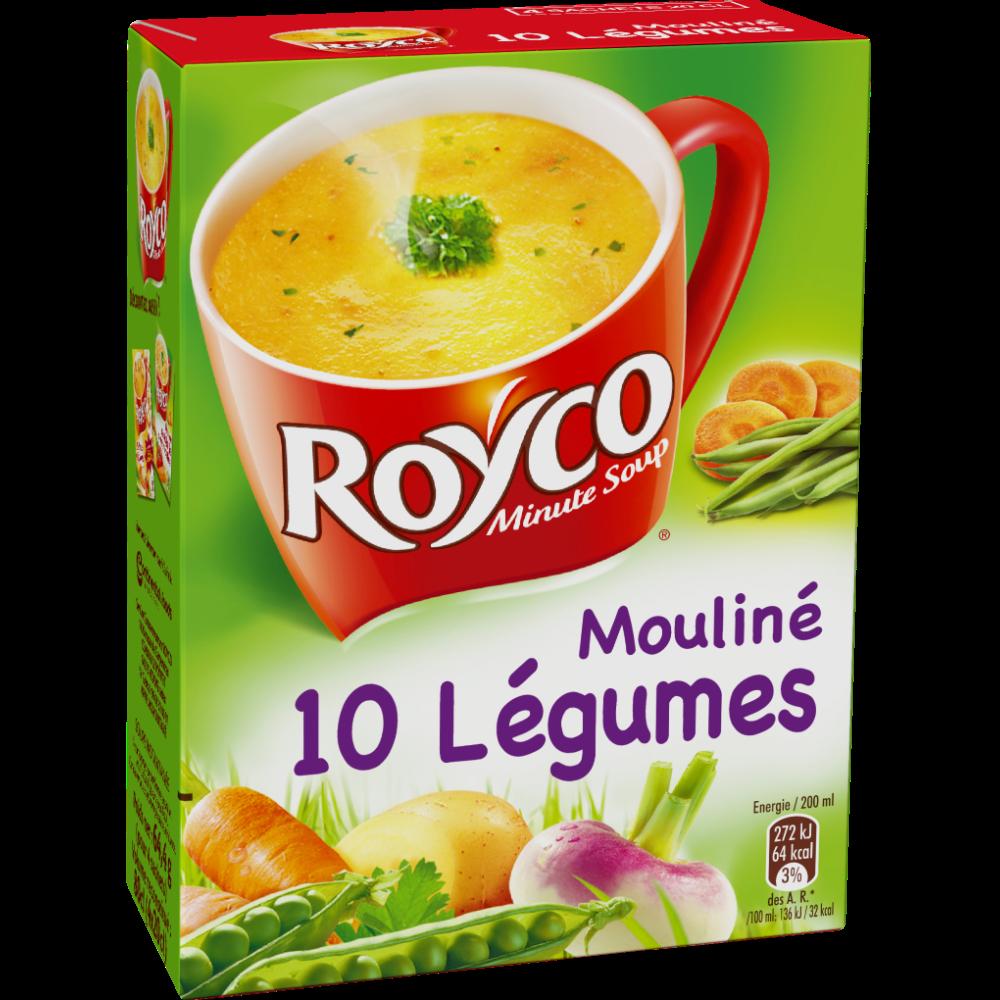 Mouliné instantané de légumes, Royco (89 g)