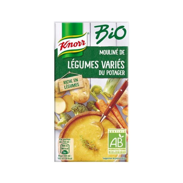 Mouliné de légumes variés du potager BIO, Knorr (50 cl)