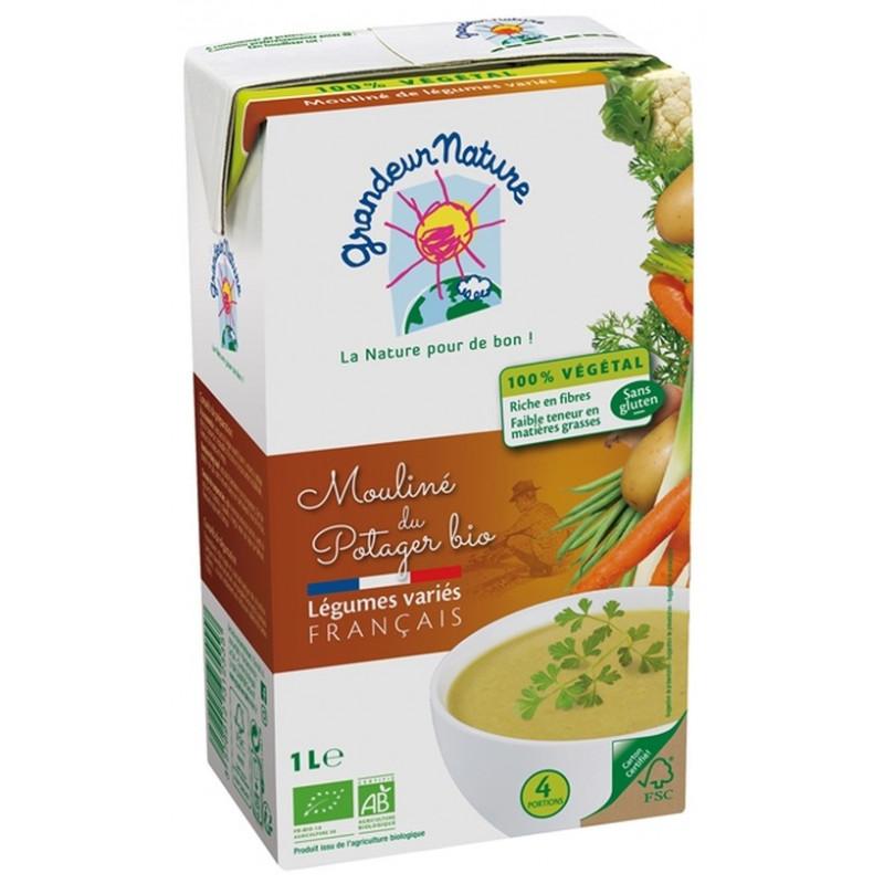 Mouliné du potager légumes BIO, Grandeur Nature (1 L)