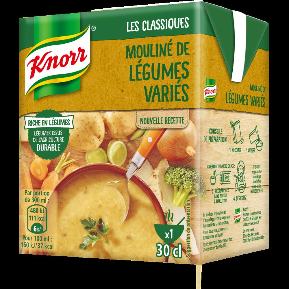 Mouliné de légumes variés, Knorr (30 cl)