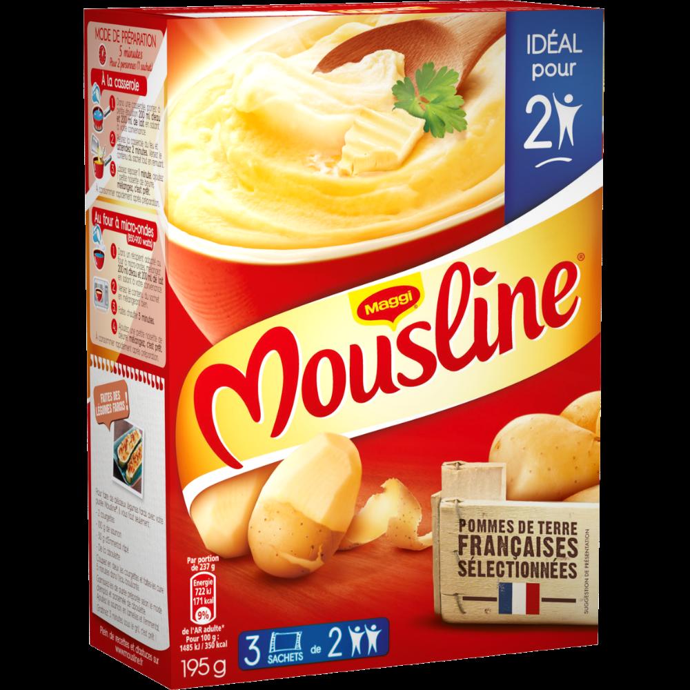 Purée Mousline, Maggi (3 x 56 g)