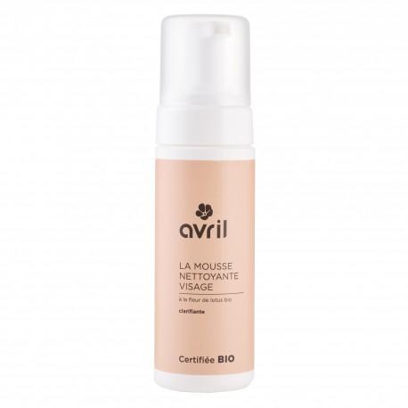 Mousse nettoyante visage certifiée BIO, Avril (150 ml)