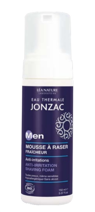 Mousse à raser anti-irritations For men, Eau thermale Jonzac (150 ml)